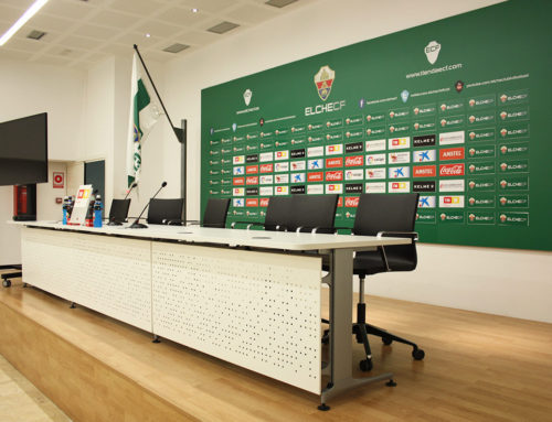 Sala de prensa del Estadio Martínez Valero