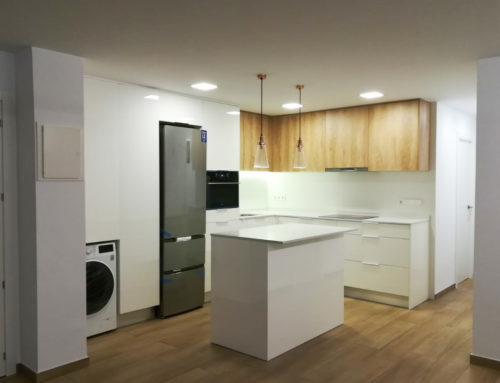Cocina de vivienda particular